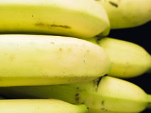 Texture of yellow banana ingredient of asia healthcare food with Royalty Free Stock Photos
