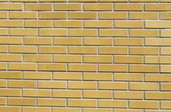 Texture of yellow brickwork Stock Image