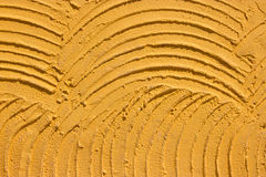 Texture of yellow cement Royalty Free Stock Photo