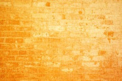 Texture of a yellow fabric Royalty Free Stock Photography