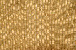 Texture of yellow fabric upholstery Royalty Free Stock Images