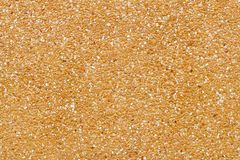 Texture of yellow pebble wall for pattern and background Stock Photos