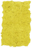 Isolated Rice Paper Texture - Yellow XXXXL Stock Photo