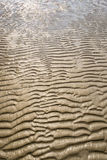 Texture of yellow sand Stock Images