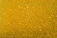 Texture of yellow sponge Stock Images