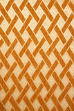 Texture of yellow wall with brown tiling ornament. Texture high resolution of yellow wall with brown tiling ornament. Modern style stock illustration
