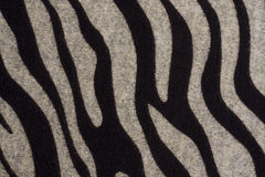 Texture of zebra pattern fabric Stock Photos