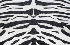 Texture of zebra skin Royalty Free Stock Image