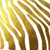 Texture of zebra skin gold Royalty Free Stock Photo