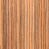 Texture zebrano, wood grain Royalty Free Stock Photos