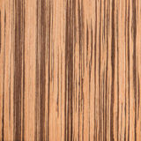 Texture of zebrano, wood grain Royalty Free Stock Photography