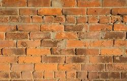 Textured ściana z cegieł w Schenectady, NY Obrazy Royalty Free