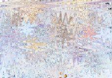 Textured запачкало предпосылку в ярких цветах Иллюстрация вектора