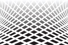Textured передернуло поверхность Абстрактная предпосылка op искусства Стоковая Фотография