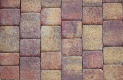 Textured покрасило плитки сделанный естественного камня стоковое фото rf