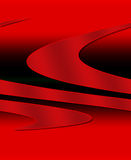 Textured 3D Graphic. In reds and black Royalty Free Stock Image