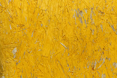 Textured abstract background in yellow color Stock Image