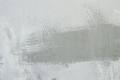 Textured abstract paint stroke on wall Royalty Free Stock Photography