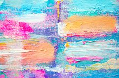 Textured abstract painting.Abstract art background Stock Photography