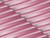 Textured Abstract Triangles and Lines Geometric Diagonal Background Design Glossy Pink White Stock Photography