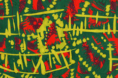 Textured Abstrakcjonistyczna farba Obrazy Stock