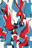 Textured Abstrakcjonistyczna farba obraz stock