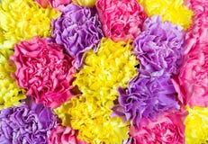 Textured abstrakcjonistyczny tło od bukieta kwiatu zbliżenie Fotografia Royalty Free