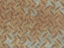 Textured art made of rusted metal and concrete Royalty Free Stock Photography