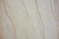 Textured będący ubranym żyłkowaty marmurowy trawertyn Zdjęcia Stock