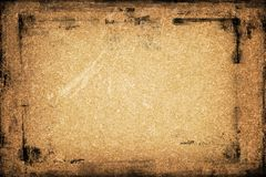 A textured background. With a frame for text or image Stock Photography