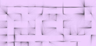 Textured background of abstract black lines on a pale lilac background Royalty Free Stock Images