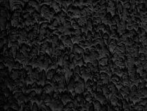 Rich textured background in heavy black Stock Photography