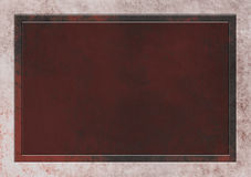 Textured Background in Brown Copper with Text Area Royalty Free Stock Images