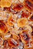 Candy Brown Sugar. Royalty Free Stock Images