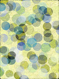 Textured Background With Circles Stock Photography