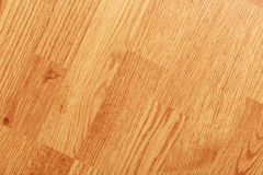 Textured background of clean laminated floor Royalty Free Stock Images