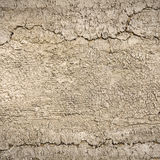 Textured background:  Closeup abstract cracked clay background Royalty Free Stock Image