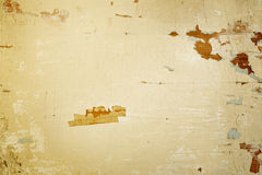 Textured background with cracked painted surface Stock Photography