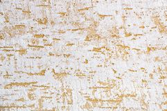 Textured background. Decorative plaster walls, exterior decoration of the facade. royalty free stock photos