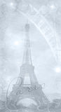 Textured background eiffel tower Royalty Free Stock Image