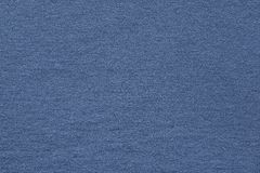 Textured background fabric of silvery blue color Royalty Free Stock Image