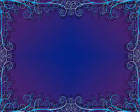 Textured Background with Flourishes. Frame royalty free illustration