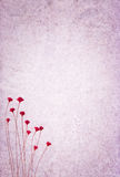 Textured background with flowers royalty free stock photos
