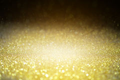 Textured background Glitter sparkle gold glitter Royalty Free Stock Image