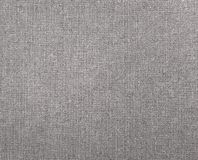 Textured background of gray natural textile. The textured background of gray natural textile for text, banner, poster, label, sticker, layout, wallpaper, fabric stock image