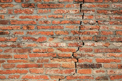 Textured background: grunge broke brick pattern Royalty Free Stock Images