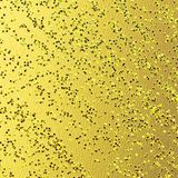 Textured background with grungy surface. Vibrant toned structured background. Glitter embossed on gold foiled background. royalty free illustration