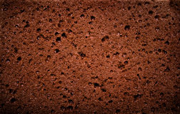 Textured background - macro view of brown sponge Stock Photo