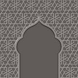 Textured background with a mosque Royalty Free Stock Images