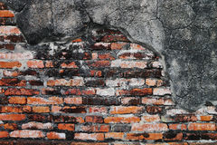 Textured background,old brick wall pattern Stock Photography